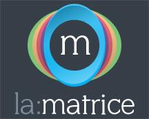 Logo de la matrice espace de coworking d'animations et d'expérimentations à Saint-Brieuc